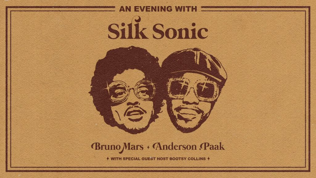 """Bruno Mars and Anderson .Paak have teamed up for new project Silk Sonic – first single '""""Leave the Door Open"""" out now"""